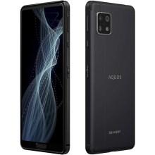 SHARP SIMフリースマートフォン AQUOS sense4 ブラック DSDV対応