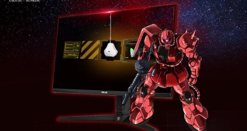 「ASUS」×「機動戦士ガンダム」コラボ製品からゲーミングモニター2製品が販売開始!