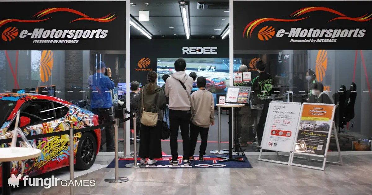 日本最大級のeモータースポーツスタジアム「AUTOBACS REDEE Emotorsports Stadium」がREDEE内にオープン!「REDEE Cafe」もリニューアル!