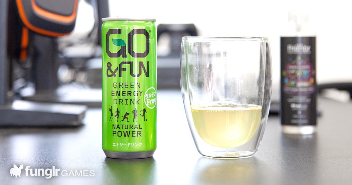 アクティブに動きたい!「GO&FUN GREEN ENERGY DRINK」をレビュー!