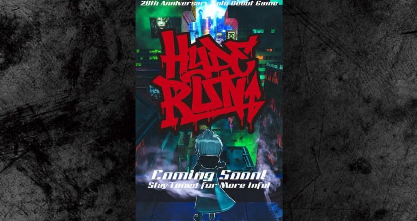 HYDE全面監製!個人活動20週年紀念遊戲「HYDE RUN」啟動!