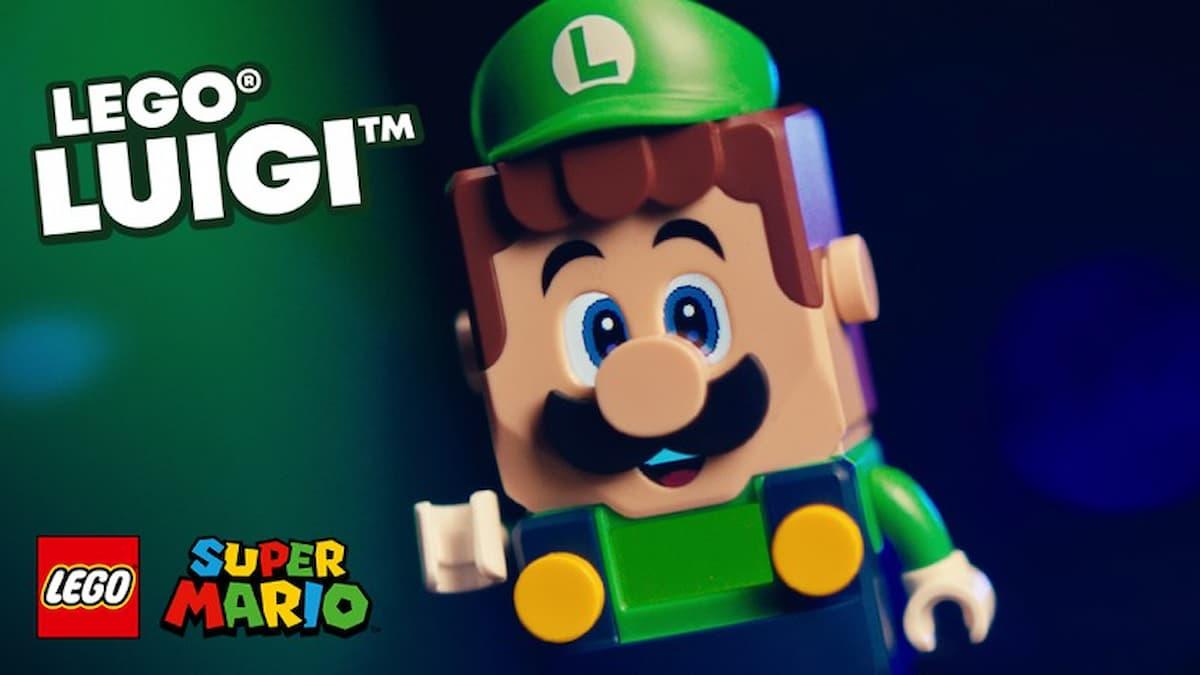 這是綠色版瑪利歐?「樂高®路易吉™」新登場!