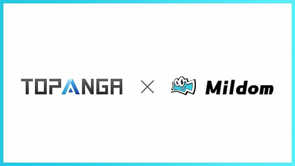 經營遊戲直播的「Mildom」與「TOPANGA」簽訂直播合同