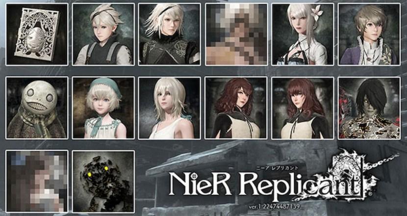 「NieR Replicant ver.1.22474487139...」の早期購入特典や店舗特典が公開!