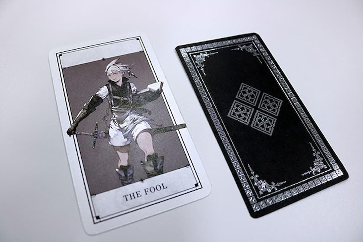 タロットカード(光沢サンプル写真)