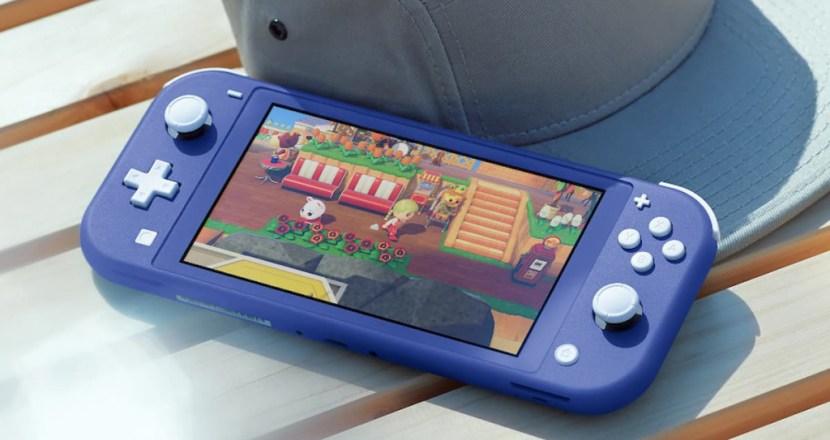 Nintendo Switch Liteにクールな新色「ブルー」登場!予約受付開始!