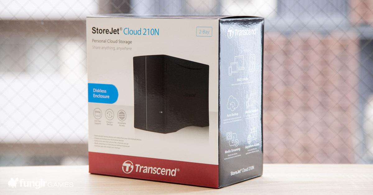 【開封式】コスパ抜群!Transcend(トランセンド)のNAS「StoreJet Cloud 210N」を購入!