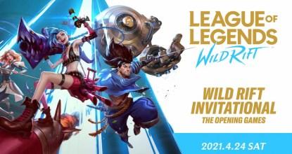LoL日本賽事「WILD RIFT INVITATIONAL - THE OPENING GAMES」詳情確定並公佈OPEN TOURNAMENT參加條件