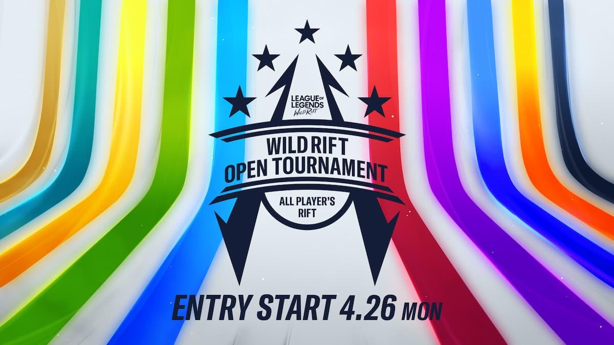 WILD RIFT OPEN TOURNAMENT - ALL PLAYER'S RIFT