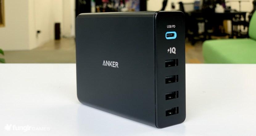 【開箱】可以 29 瓦高速充電並且支援 PD 的「Anker PowerPort+ 5」