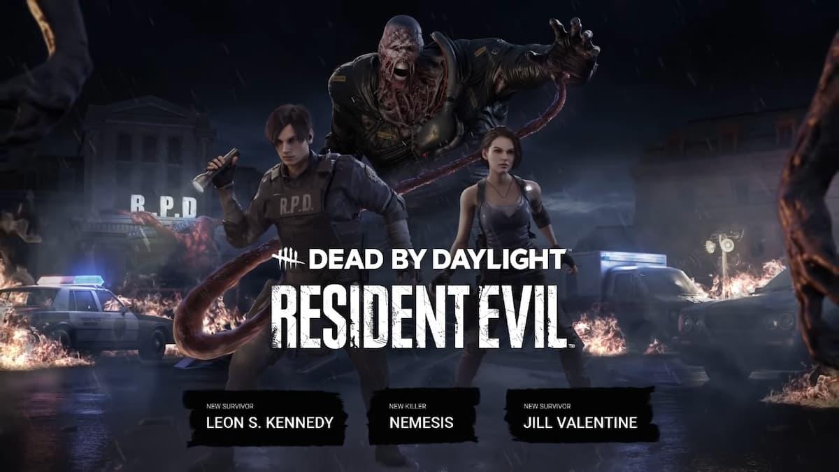 Dead by Daylight × Resident Evil合作內容公開!追跡者、里昂、吉兒登場!
