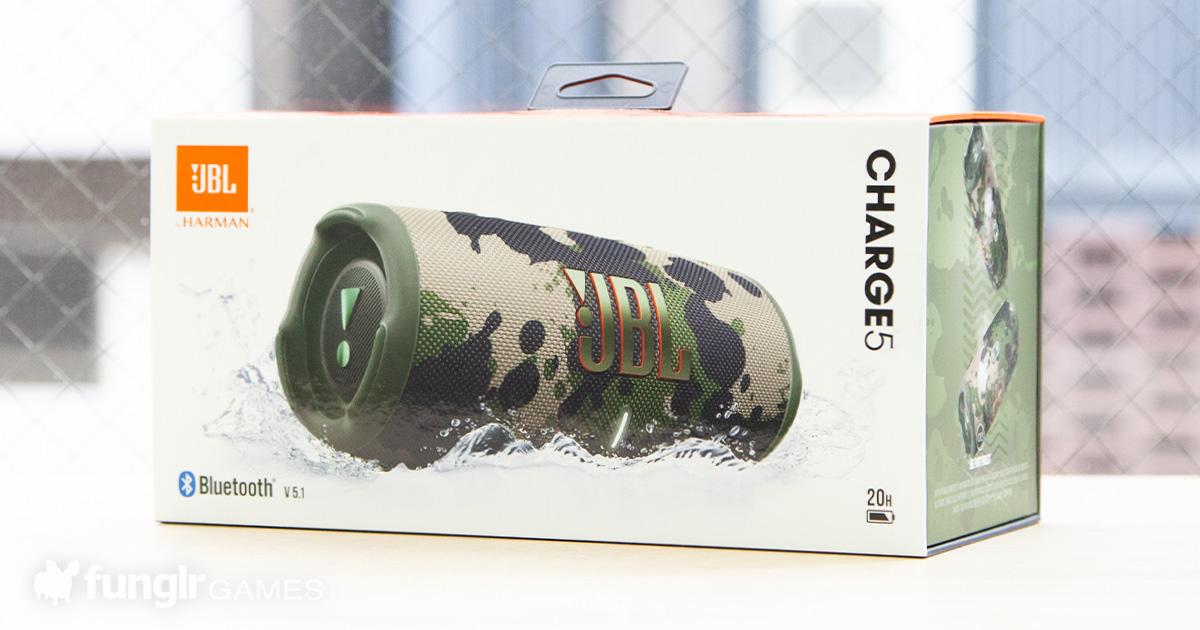 【開箱實測】JBL 最新款便攜式藍芽音箱「JBL CHARGE 5」!