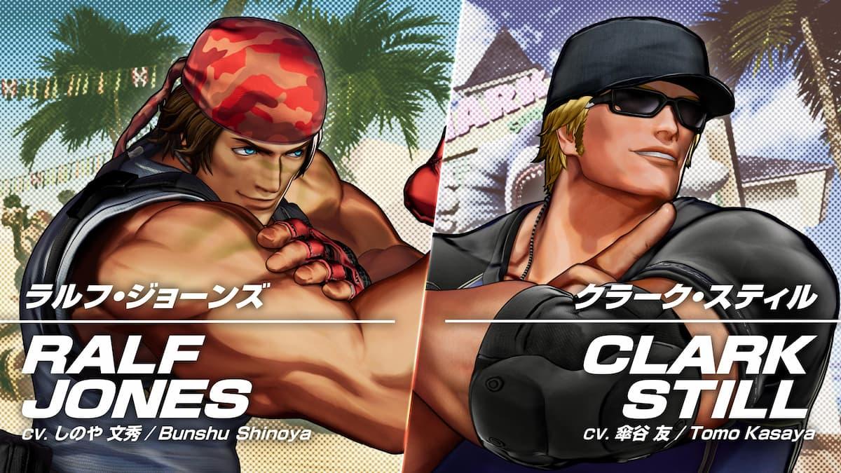 「KOF XV」新キャラクタートレーラー「ラルフ・ジョーンズ&クラーク・スティル」公開!もちろんあのチームで参戦!