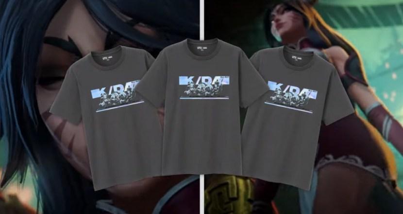LoL與UNIQLO「UT」合作!《英雄聯盟》UT日本開始販售!