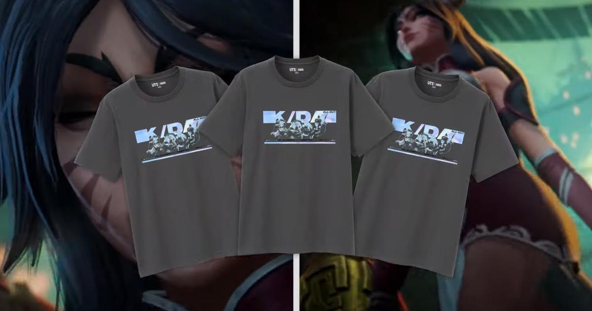 遂にLoLがユニクロ「UT」とコラボ!「リーグ・オブ・レジェンド」UTが 販売開始!