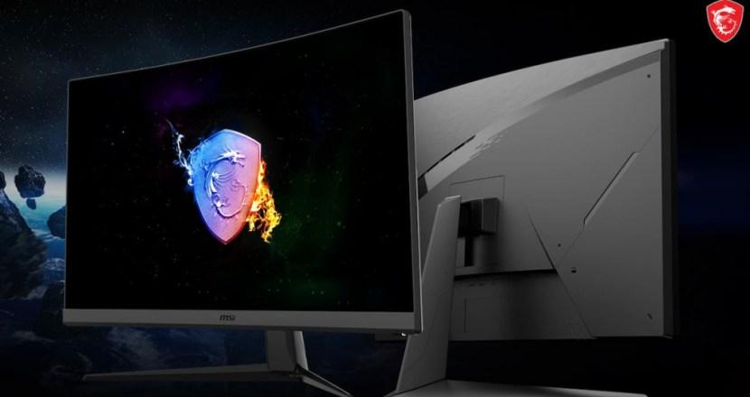 MSIからコストパフォーマンスに優れた27インチ湾曲ゲーミングモニター「Optix G27C7」が登場