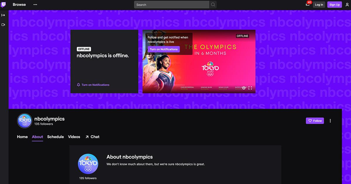 NBCがTwitchと提携して「2020年東京オリンピック」のコンテンツを配信!?Twitchクリエイターの募集も