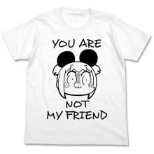 ポプテピピック ポプ子のけものTシャツ ホワイト