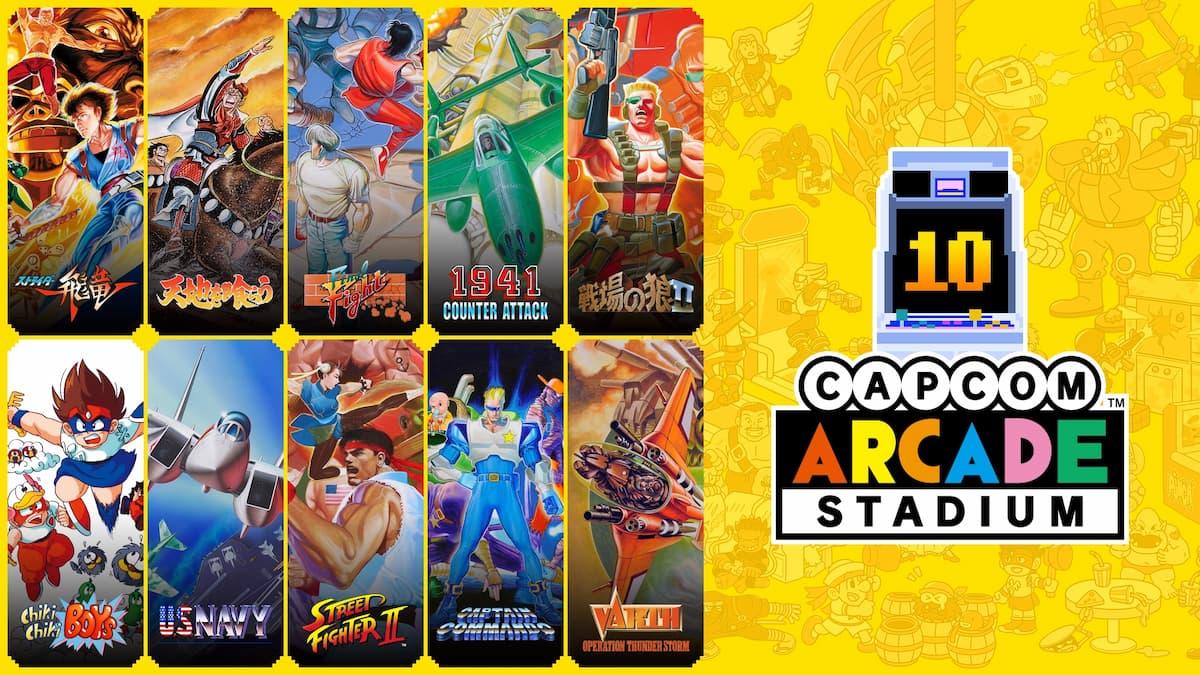 Capcom Arcade Stadium Pack 3:アーケードはさらなるステージへ!