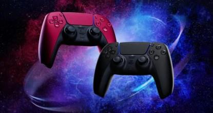 PS5のDualSense ワイヤレスコントローラーに新色登場!2色のカラバリが追加!