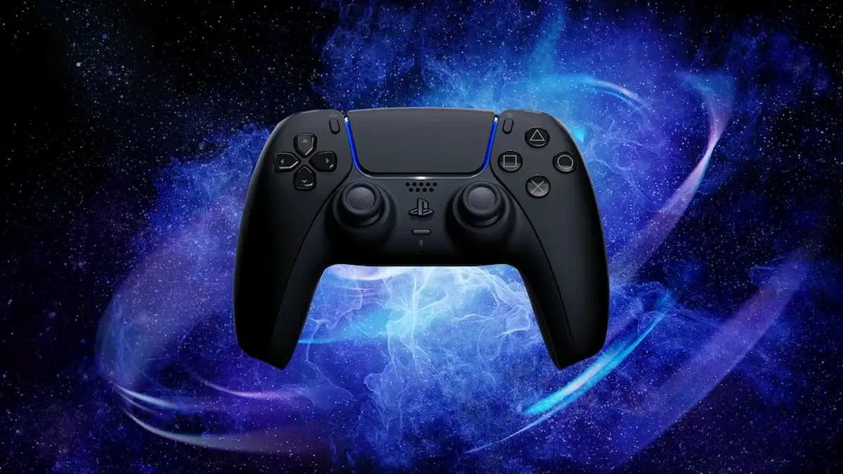DualSense ワイヤレスコントローラー ミッドナイト ブラック