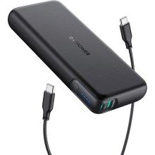 モバイルバッテリー RAVPower 20000mAh PD対応 60W USB-A+USB-C 2ポート 大容量