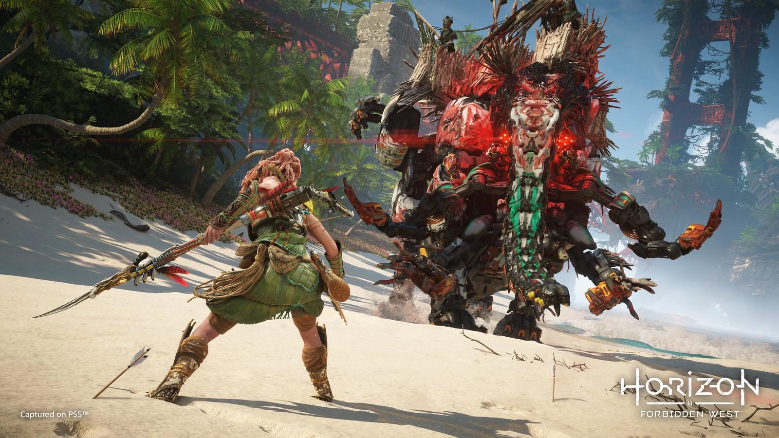 美到令人屏息的畫面表現!「地平線 西方禁地」PS5 實機畫面曝光!