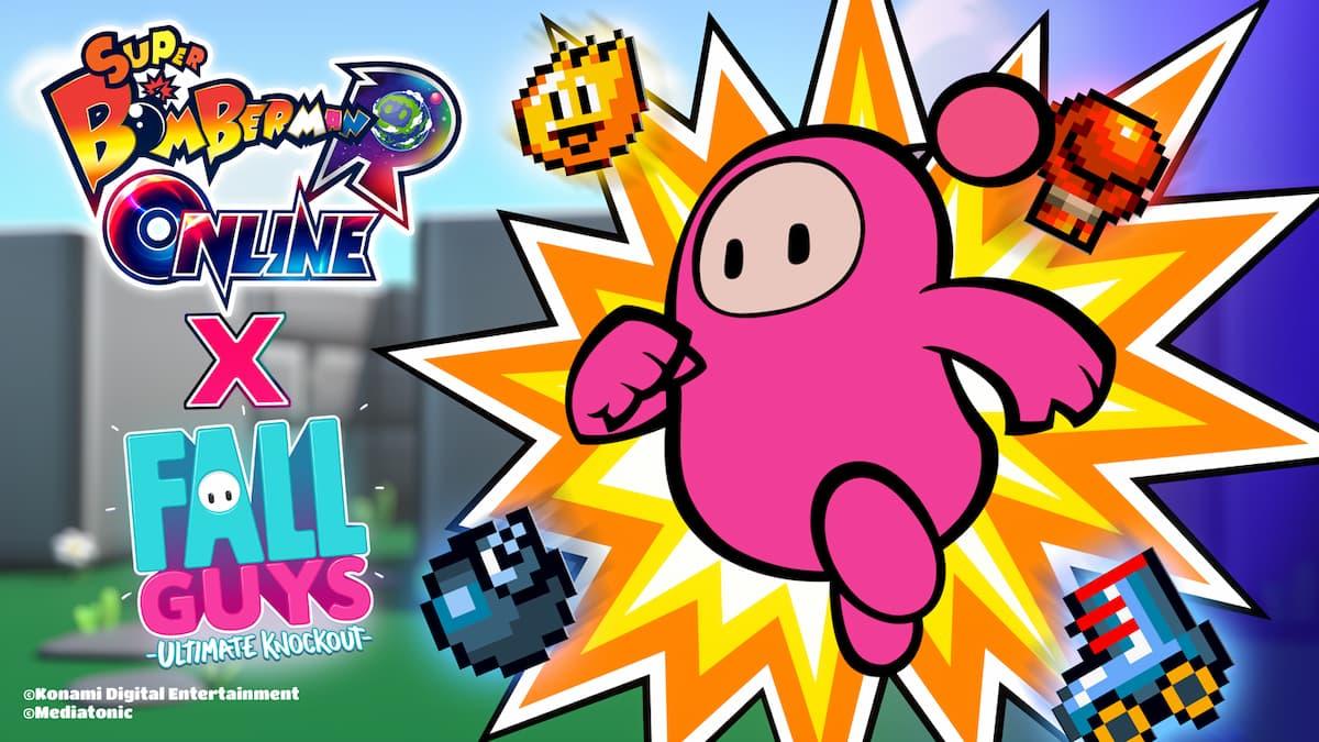 《超級炸彈人 R ONLINE》×《Fall Guys: Ultimate Knockout》