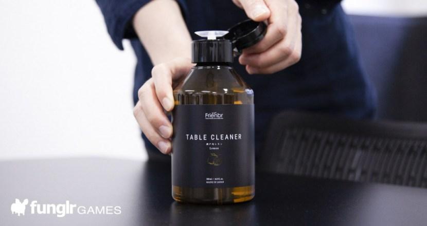 能為桌面除菌? Frienbr TABLE CLEANER 瀨戶內檸檬桌面除菌液評測