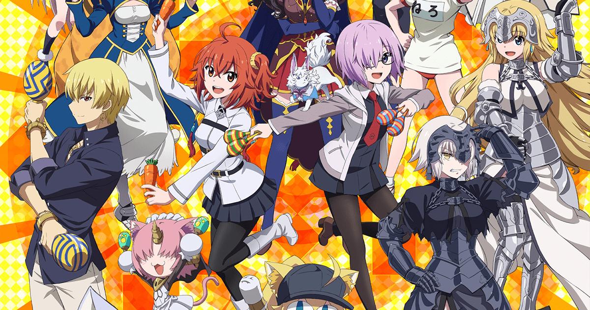 FGO新作アニメ「Fate/Grand Carnival」Blu-ray&DVD 発売!
