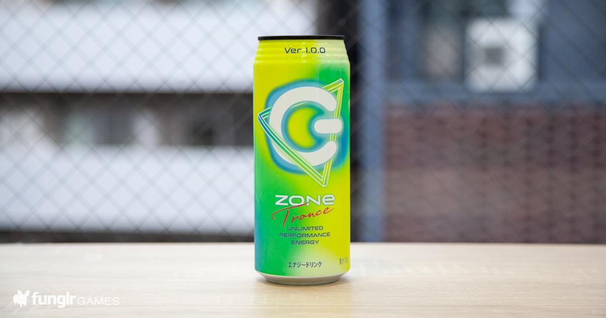 今度のZONeはフルーツミックス系!?「ZONe Trance Ver.1.0.0」を飲んでみた!