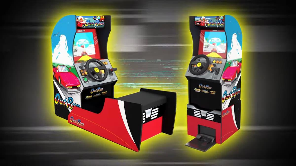 あのレーシングゲーム筐体が家にやってくる!「ARCADE1UP OutRun」発売決定!
