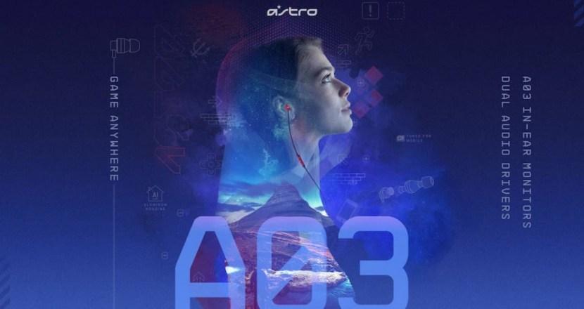 ASTRO Gaming初のゲーミングイヤホン「A03インイヤーモニター」が国内販売開始!