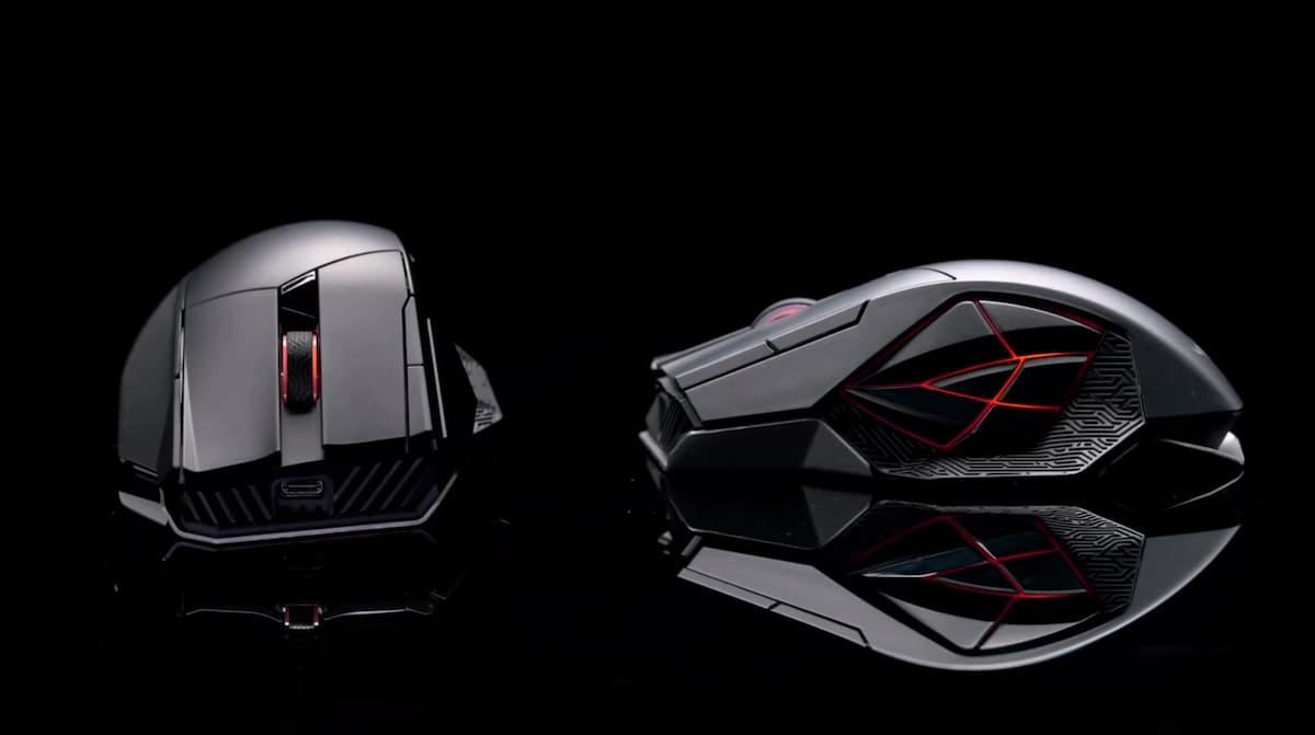 サイドボタンが個性的なデュアルモード接続ゲーミングマウス ASUS「ROG Spatha X」発表!
