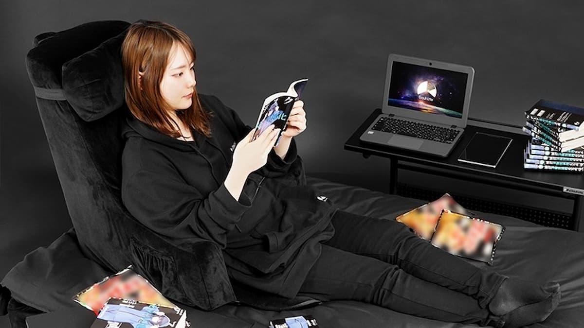 ベッドをソファ化!座椅子にも使える背もたれクッション Bauhutte「ゲーミングベッドソファ BHB-650」発売!