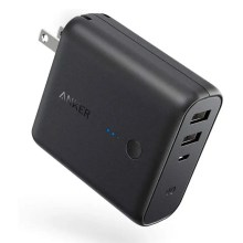 Anker PowerCore Fusion 5000 (モバイルバッテリー 搭載 USB充電器 5000mAh)