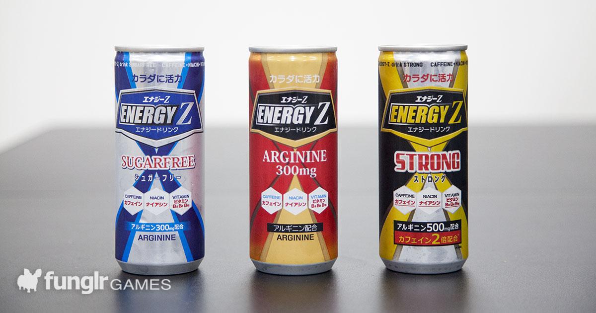 まるで戦隊ヒーロー!レアなご当地エナドリ「ENERGY Z」3種類を飲み比べてみた!