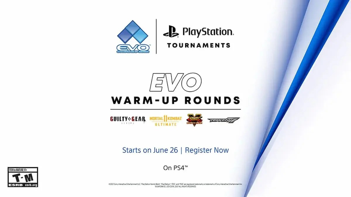 PlayStation Tournaments Evo 2021 Online ウォームアップ