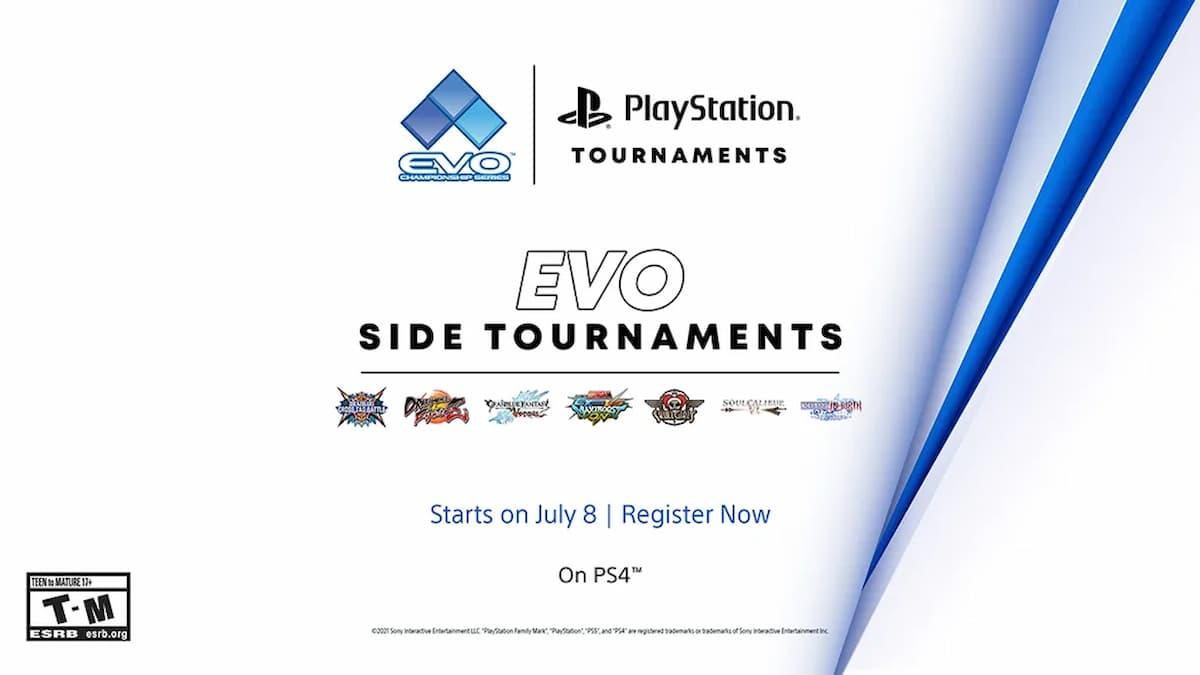 PlayStation Tournaments Evo 2021 Online サイドトーナメント