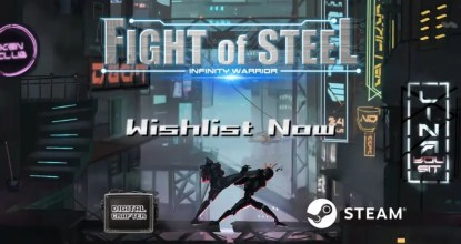 Digital Crafterの「Fight of」シリーズ最新作!「Fight of Steel: Infinity Warrior」発表!