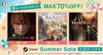 最大70%オフ!DOA6やライザ2がSteamでお得に買える「Steam Summer Sale」開催!