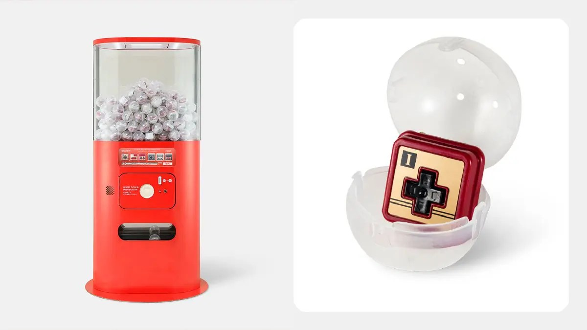Nintendo TOKYO & 快閃店先行推出!「任天堂控制器按鍵」扭蛋登場!