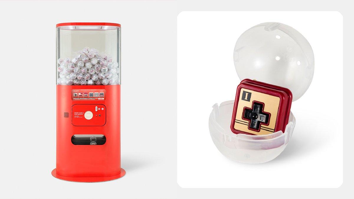 Nintendo TOKYO & ポップアップストア先行!カプセルトイ「コントローラーボタンコレクション」が登場!