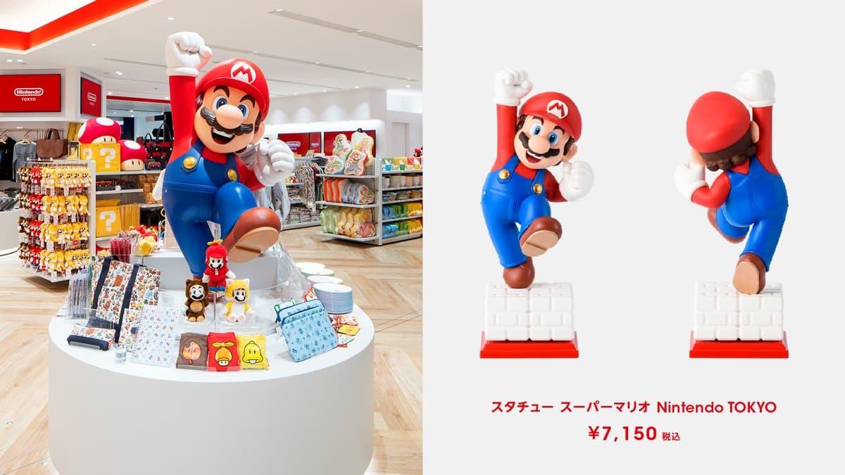 雕塑 超級瑪利歐 Nintendo TOKYO