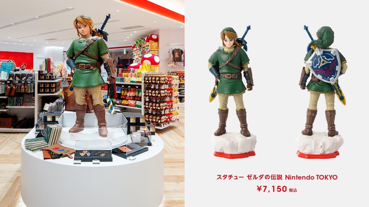 雕塑 薩爾達傳說 Nintendo TOKYO