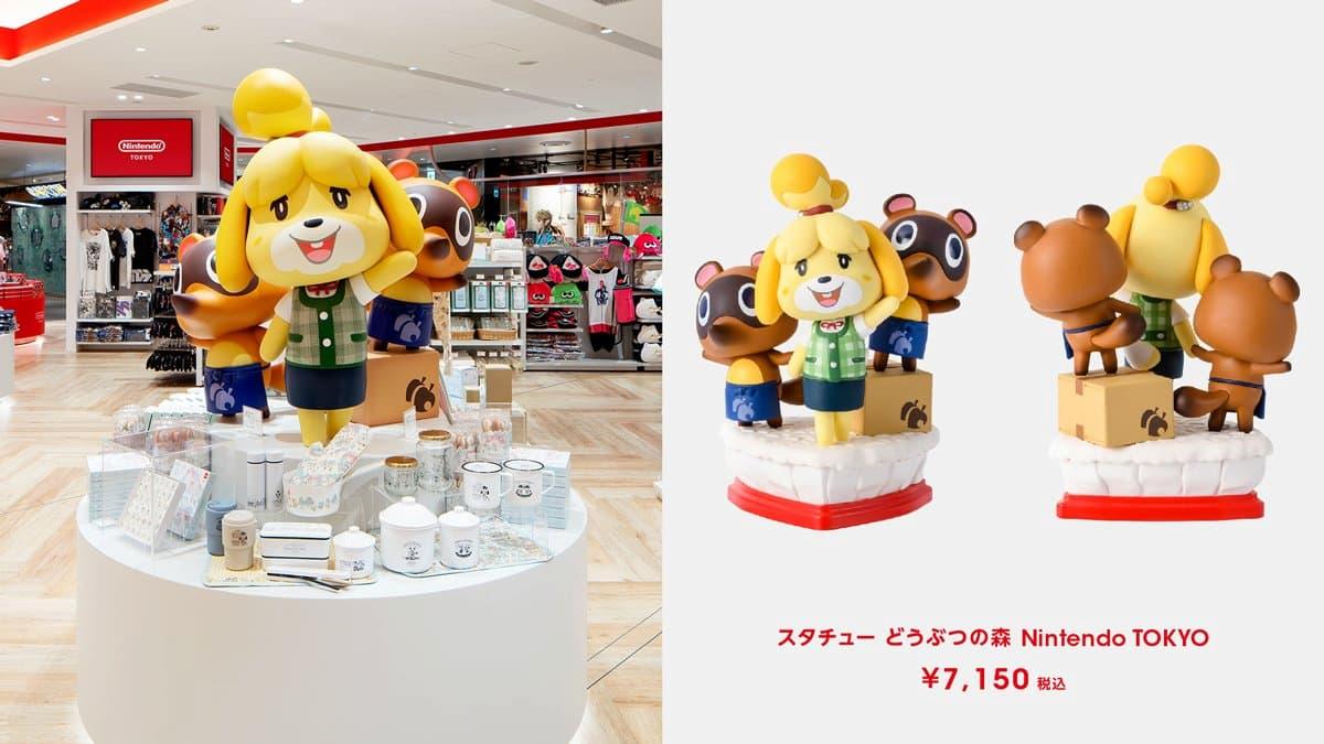 雕塑 動物森友會 Nintendo TOKYO