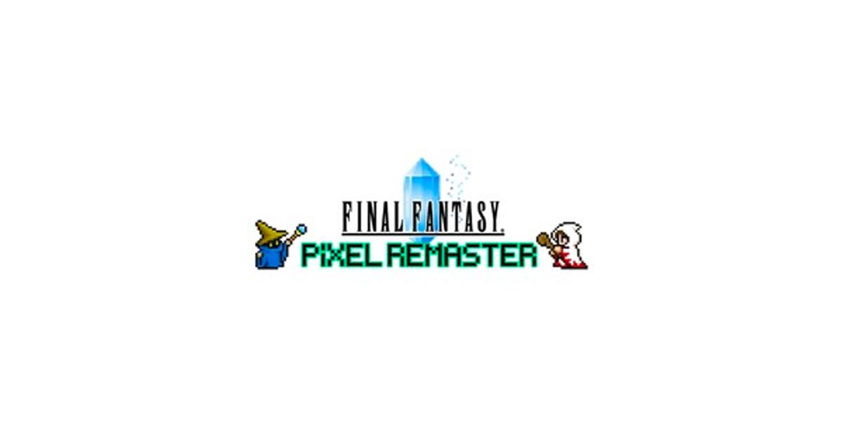 「FINAL FANTASY Pixel Remaster」第一彈於 7 月 29 發售!Steam 商品頁面同步公開