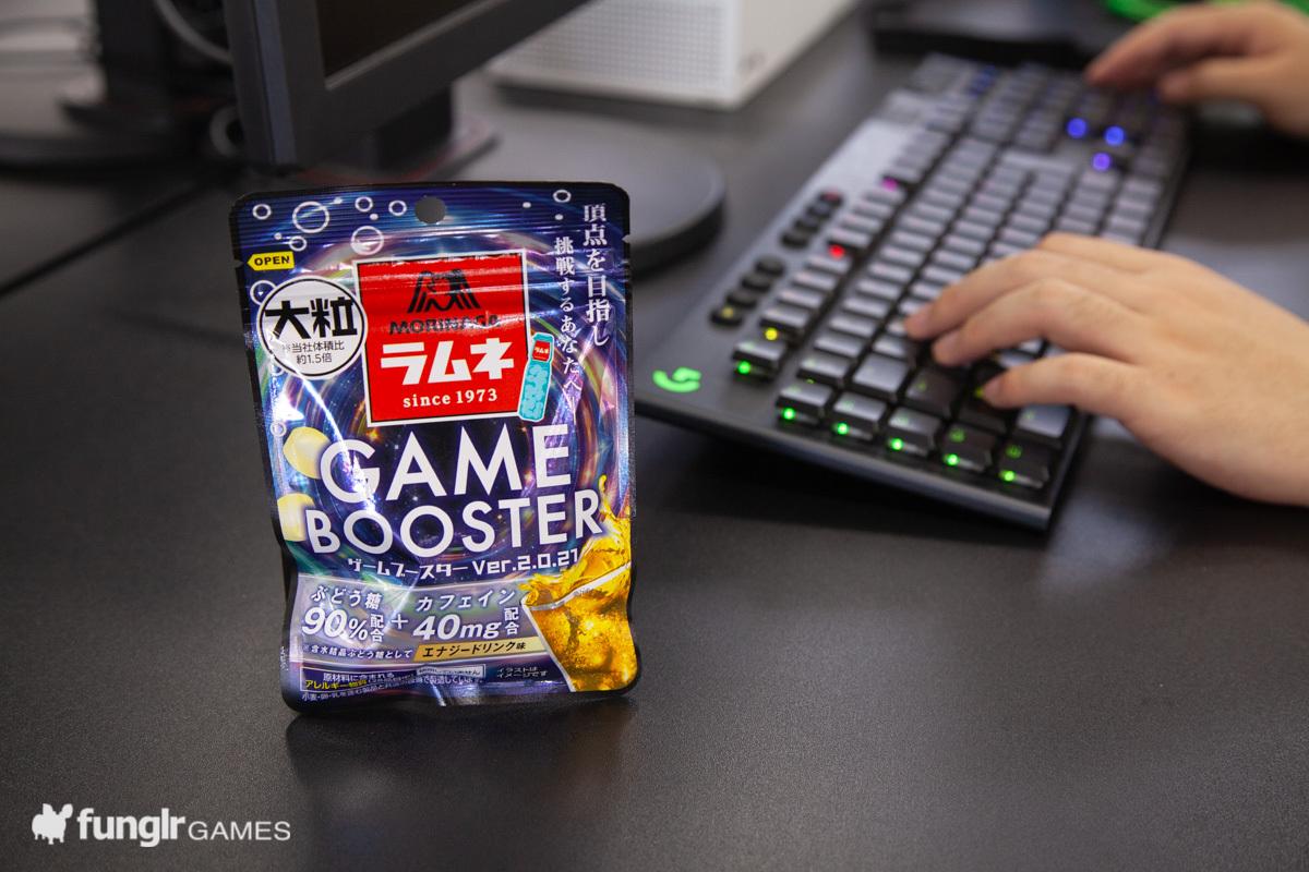 森永の大粒ラムネ GAME BOOSTERがバージョンアップ!「GAME BOOSTER2」登場!