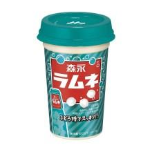 【冷蔵】森永 ラムネ ドリンク 240mlx10本