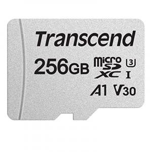 Transcend 創見 256GB 300S microSD UHS-I A1 記憶卡
